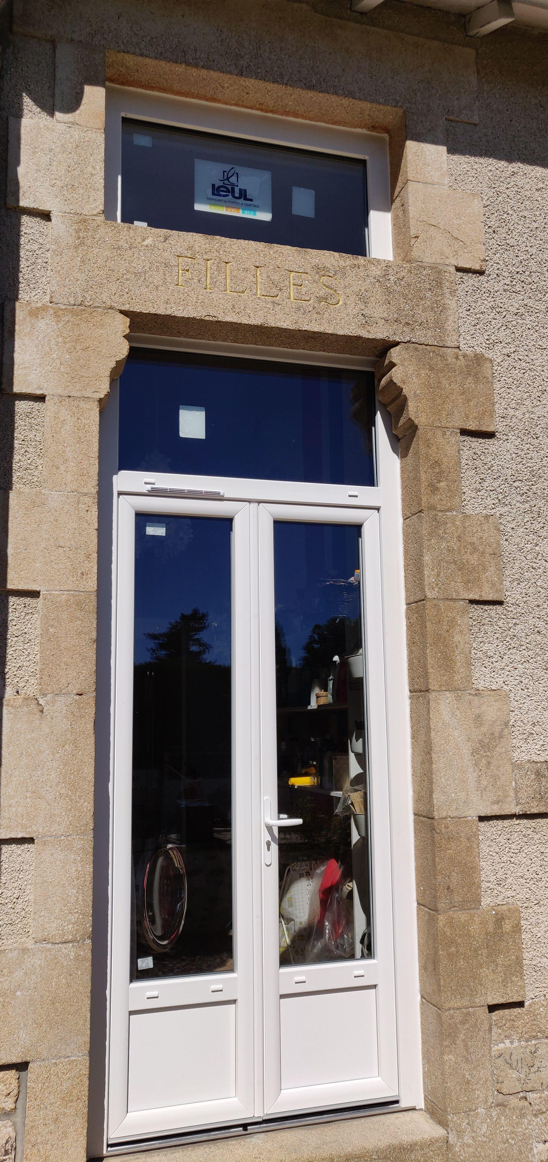 Porte Fenêtre sur mesure PVC