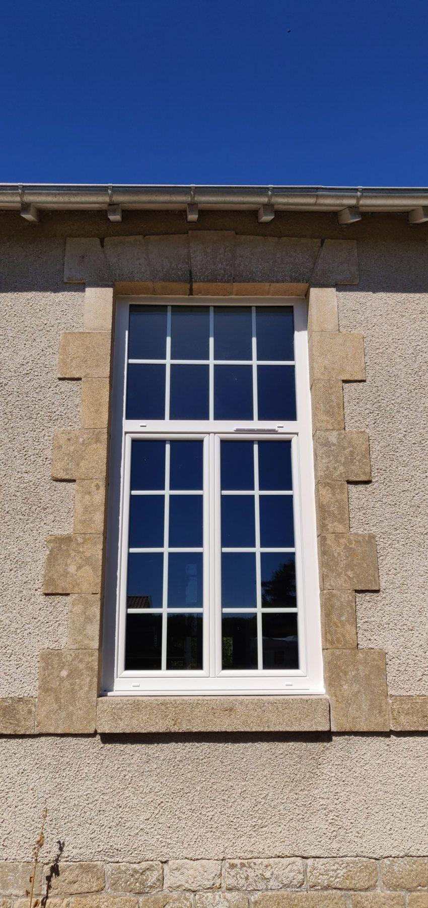 Fenêtre sur mesure PVC